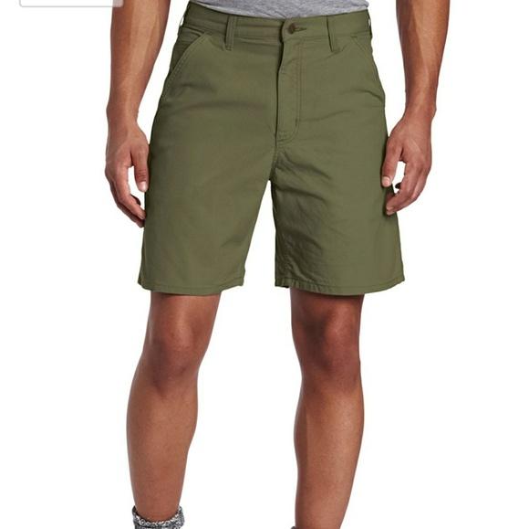 74e94f3841 Carhartt Other - Carhartt mens kahki canvas shorts